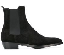 Chelsea-Boots mit spitzer Kappe