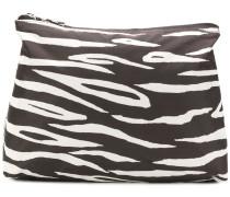 Kosmetiktasche mit Zebra-Print