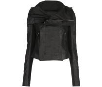 fitted biker jacket