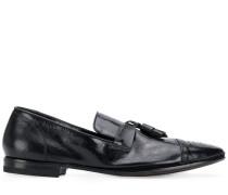 Glänzende Loafer