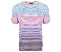 T-Shirt mit Colour-Block-Streifen