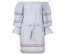 Maya striped off the shoulder mini dress