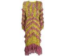 'Fantasy' Kleid mit Blumen