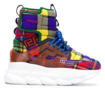 Sneakers im Patchwork-Design