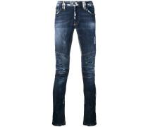 'Biker Statement' Skinny-Jeans
