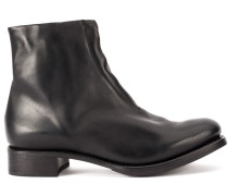 low chunky boots