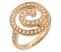 18kt yellow  Diamond gratitude ring
