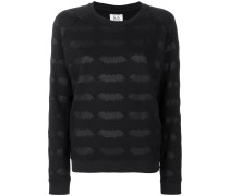 bat embroidered sweater
