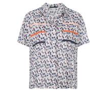triple pocket short sleeved shirt