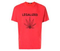 "T-Shirt mit ""Legalized""-Print"