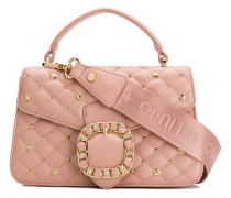 buckle quilted tote bag