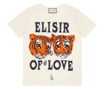 Oversized-T-Shirt mit Tiger