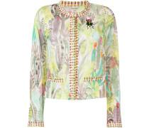 floral print cardigan