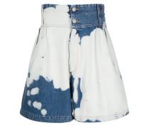 Jeans-Shorts mit Bleached-Effekt