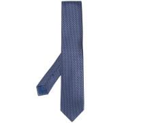 Krawatte mit Webmuster