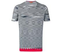 graphic stripe T-shirt