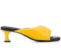 Sandalen mit eckiger Kappe, 65mm