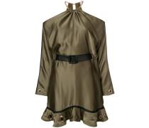 cold shoulder mini dress