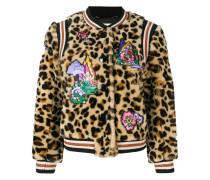 leo teddy bomber jacket