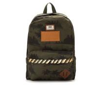 'Old School' handpainted backpack