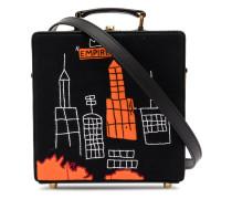 Box-Tasche mit Skyline-Print