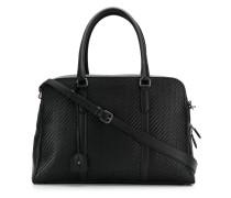 Reisetasche mit Webmuster