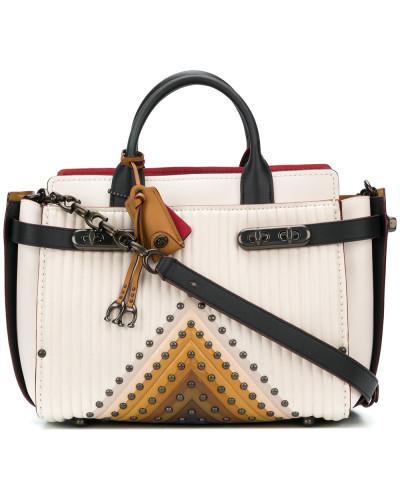 Coach Damen 'Double Swagger' Handtasche Shop Günstig Online VyD7slmSP