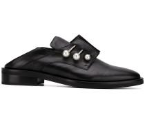 Derby-Schuhe mit Piercing-Detail