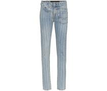 'Turner' Jeans mit Kristallen
