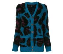 Cardigan mit Leoparden-Muster