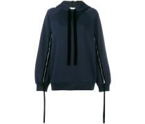 zipped sleeve hoodie