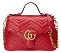 Kleine GG Marmont Handtasche aus Leder