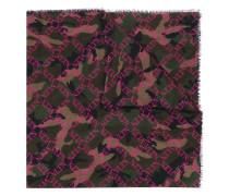 VLTN Schal mit Camouflage-Print