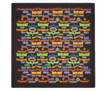 Metal Mix print shawl