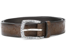 perforated western belt