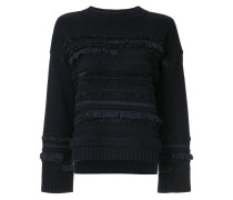 Pullover in Tweed-Optik