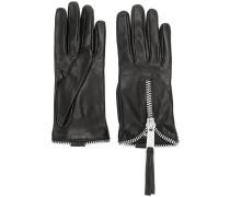 Handschuhe mit Reißverschluss