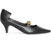 Pumps mit Zierkette