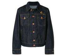Jeansjacke mit lockerem Schnitt