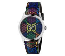 'G-Timeless' Armbanduhr mit GG