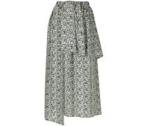 layered asymmetric skirt