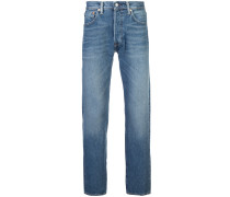 zip fastened jeans