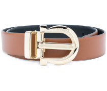 Gancini buckle belt