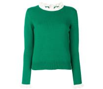 Pullover mit Kontratsaum