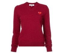 Pullover mit Herz-Patch