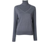 G.V.G.V. Pullover mit Cut-Outs