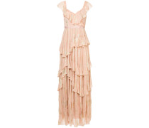 Butterfly maxi gown