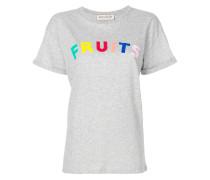 "T-Shirt mit ""Fruits""-Slogan"
