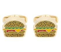 Manschettenknöpfe mit Hamburgerform