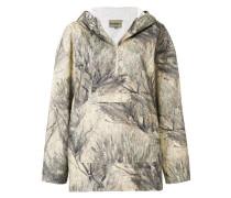 tree print hoodie
